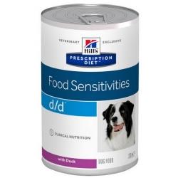 Hill's Prescription Diet d/d Canine Kaczka puszka 370g