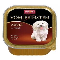 Animonda vom Feinsten Dog Adult Jeleń tacka 150g