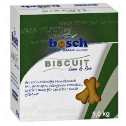 Bosch Finest Snack Lamb & Rice karton 5kg