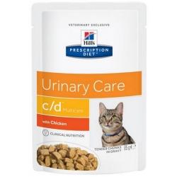 Hill's Prescription Diet c/d Feline z Kurczakiem saszetka 85g