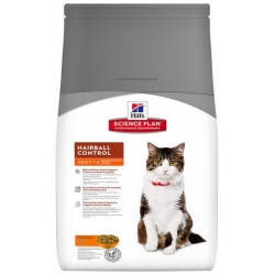 Hill's Feline Adult Hairball Control Chicken 1,5kg