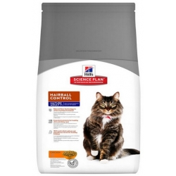 Hill's Feline Mature Adult Senior 7+ Hairball Control Chicken 1,5kg