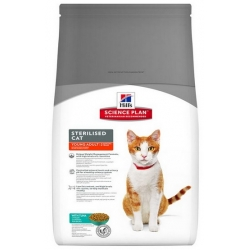 Hill's Feline Young Adult Sterilised Cat Tuna 3,5kg