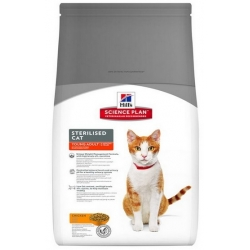 Hill's Feline Young Adult Sterilised Cat Chicken 3,5kg