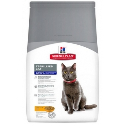 Hill's Science Plan Feline Mature Adult 7+ Sterilised Cat Kurczak 1,5kg