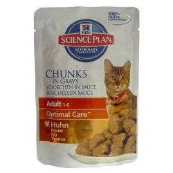 Hill's Feline Adult Chicken saszetka 85g