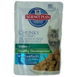 Hill's Feline Kitten Seefisch (ryba morska) Healthy Development saszetka 85g