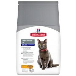 Hill's Science Plan Feline Mature Adult 7+ Sterilised Cat Kurczak 300g