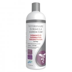 VFCC Leczniczy szampon przeciwpasożytniczy i przeciwłojotokowy 473 ml