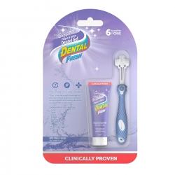 Dental Fresh Gel enzymatyczny & szczoteczka triflex