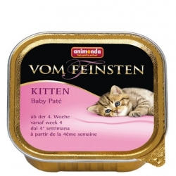Animonda vom Feinsten Cat Kitten Baby Pate tacka 100g
