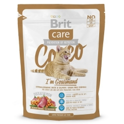 Brit Care Cat New Cocco I'm Gourmand Duck & Salmon 400g
