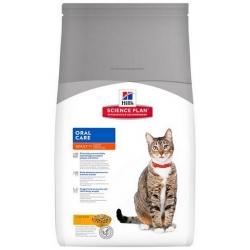 Hill's Science Plan Feline Adult Oral Care Chicken 1,5kg