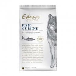 EDEN FISH CUISINE – Szkocki Łosoś i Śledź Północnoatlantycki - Rasy Małe - 6kg