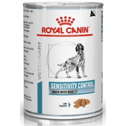 Royal Canin Veterinary Diet Canine Sensitivity Control kaczka i ryż puszka 420g