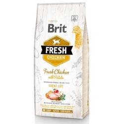 Brit Fresh Dog Adult Chicken & Potato 12kg