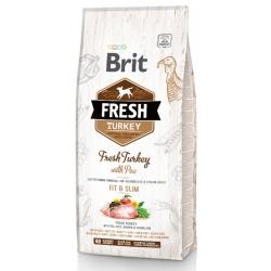 Brit Fresh Dog Adult Light Turkey & Pea 12kg