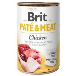 Brit Pate & Meat Dog Chicken puszka 400g