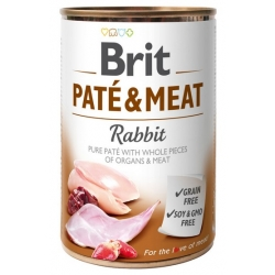 Brit Pate & Meat Dog Rabbit puszka 400g