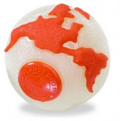 Planet Dog Orbee Ball beżowo-pomarańczowa medium [68671]