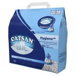 Catsan Hygiene Plus 5L - żwirek higieniczny bezzapachowy
