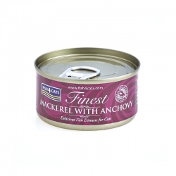Fish4Cats Makrela z Anchois 70 G