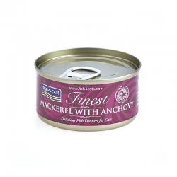 Fish4Cats Makrela z Anchois 70 G