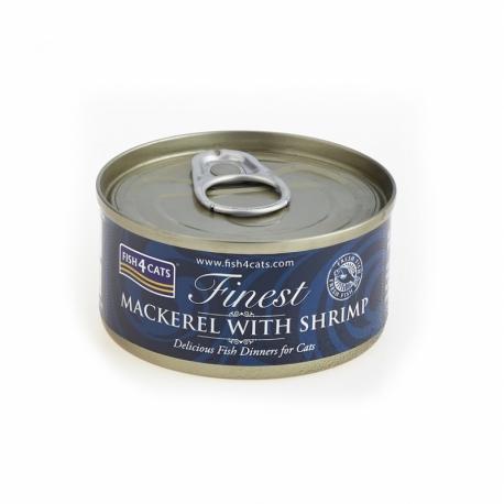 Fish4Cats Makrela z Krewetkami 70 G