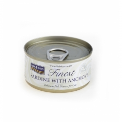 Fish4Cats Sardynka z Anchois 70 G
