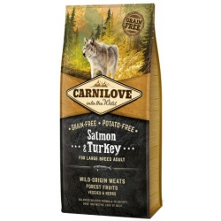 Carnilove Dog Salmon & Turkey Large Adult - łosoś i indyk 12kg