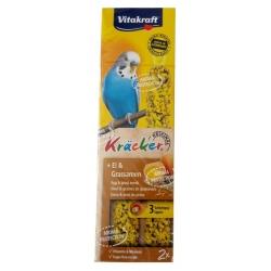 Vitakraft Kracker 2szt Papuga falista Jajeczny 60g [2121263]