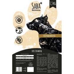 Saba Karma bezzbożowa Dzik z Zurawiną 1,5 Kg