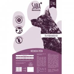 Karma Saba Karmy dla psów dorosłych |  WOŁOWINA Z RYŻEM  12 kg