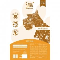 Saba Karma Indyk z ryżem dla psów dorosłych 12 Kg