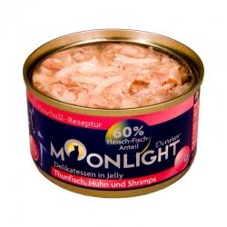 Moonlight Dinner Nr 6 - Tuńczyk, kurczak i krewetki w galaretce  80 g