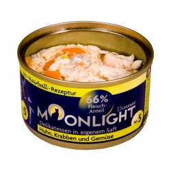 Moonlight Dinner Nr 5 - Kurczak, kałamarnica, marchew i dynia  80 g