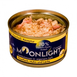 Moonlight Dinner Nr 4 - Tuńczyk, kurczak i łosoś  80 g