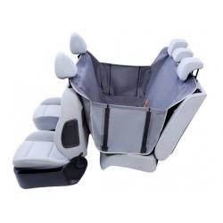 Kardiff Anti Slip mata samochodowa na tylne fotele z bokami S popielata