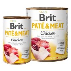 Brit Pate & Meat Dog Chicken puszka 800g