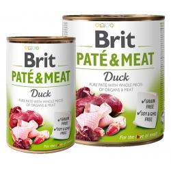 Brit Pate & Meat Dog Duck puszka 800g