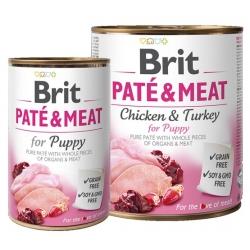 Brit Pate & Meat Dog Puppy puszka 800g