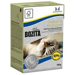 Bozita Cat Tetra Recart Feline Indoor & Sterilised 190g