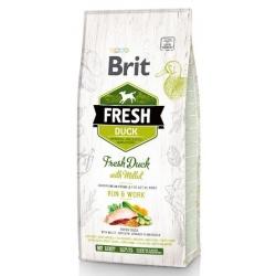 Brit Fresh Dog Adult Active Duck & Millet 2,5kg
