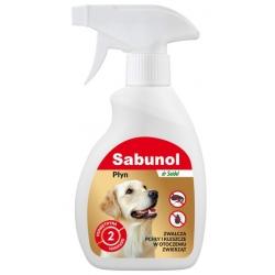 Sabunol Płyn do zwalczania pcheł w otoczeniu zwierząt 250ml