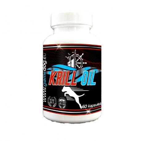 Game Dog Krill Oil - Olej z kryla 60 tabletek